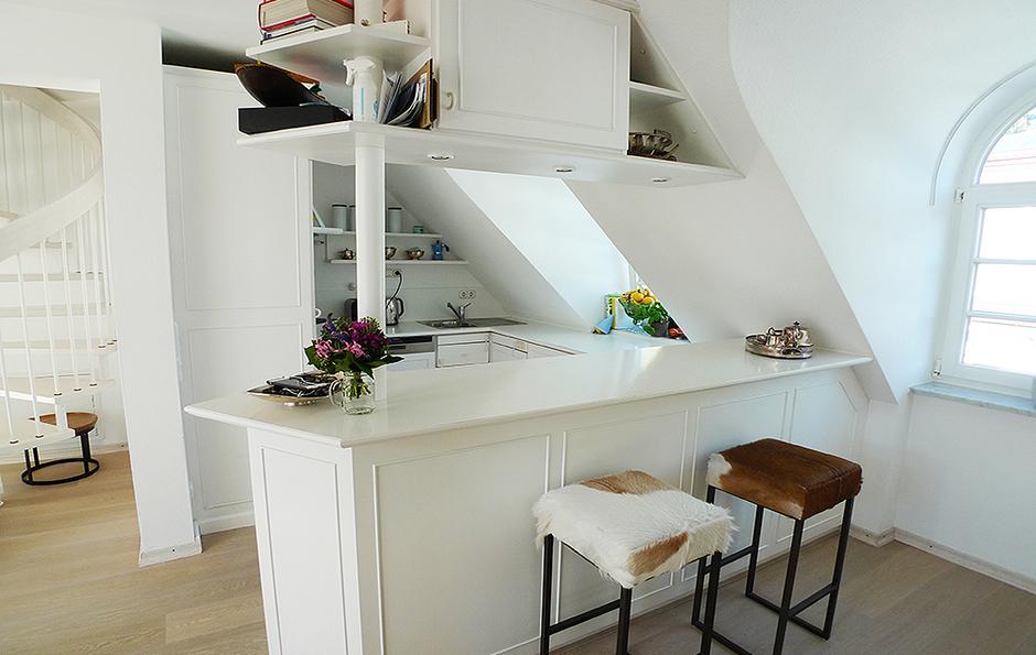 Großartig Dachgeschoss Küchen Bilder Galerie - Schlafzimmer Ideen ...